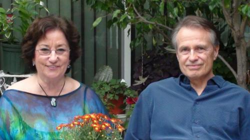 Bernice Garfield-Szita and Bob Szita