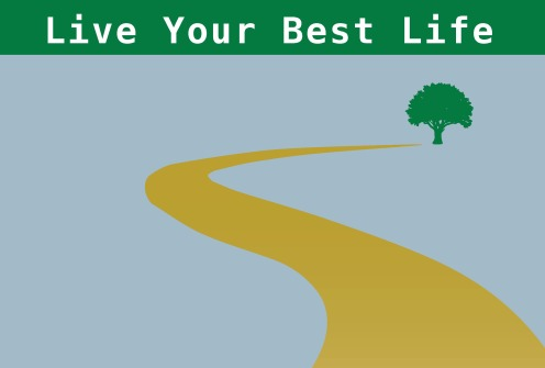 2020 Live Your Best Life Background Tree & Path